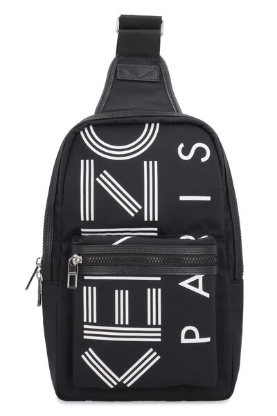 One-shoulder nylon backpack