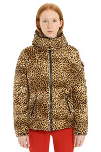 Bady hooded velvet down jacket, Down Jackets Moncler woman