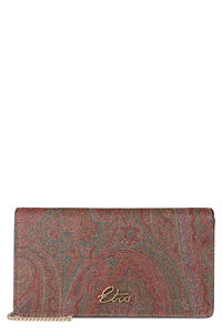Coated canvas clutch, Clutch Etro woman