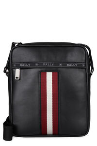 Holm leather messenger bag, Messenger bags Bally man