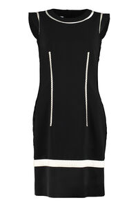 Stretch sheath dress, Mini dresses Moschino woman