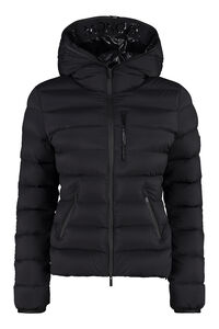 Herbe hooded full-zip down jacket, Down Jackets Moncler woman