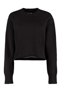 Cotton and wool blend sweater, Crew neck sweaters MM6 Maison Margiela woman
