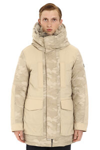 Military technical fabric parka, Parkas Woolrich man