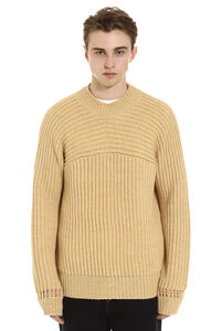 Louis ribbed wool sweater, Crew necks sweaters Jacquemus man