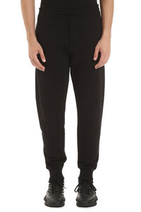 Stretch cotton track-pants, Track Pants Alexander McQueen man