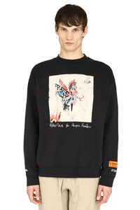 Heron Preston x Robert Nava - Printed cotton t-shirt, Sweatshirts Heron Preston man