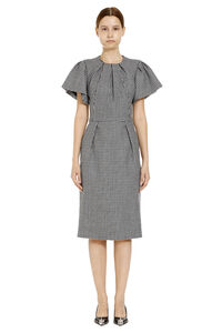 Houndstooth sheath dress, Knee Lenght Dresses Alexander McQueen woman
