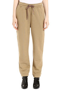 Stretch cotton track-pants, Track Pants Burberry woman