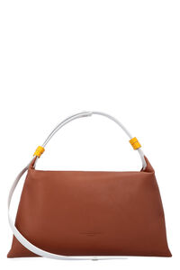 Puffin leather handbag, Top handle Simon Miller woman