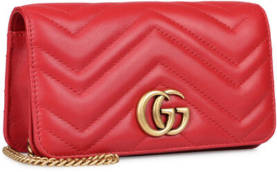 GG Marmont quilted leather mini-bag