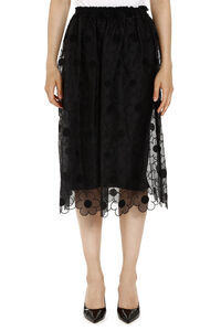 Floral embroidery skirt, Knee Length skirts 4 Moncler Simone Rocha woman