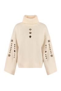 Guyana ribbed turtleneck sweater, Turtleneck sweaters Pinko woman