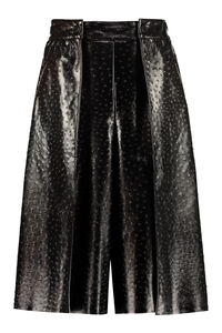Faux leather skirt-pants, Leather pants MSGM woman