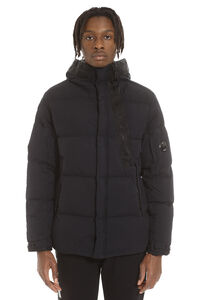 Padded jacket with zip and snaps, Down jackets C.P. Company man