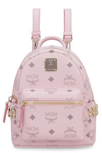 Stark Visetos mini-backpack with studs, Backpack MCM woman