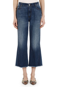 Flared cropped jeans, Flared Jeans Stella McCartney woman