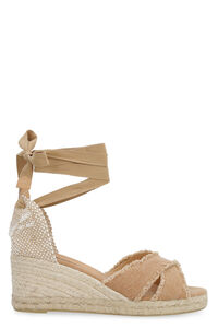 Bluma jute wedge espadrilles, Wedges Castaner woman