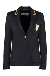 Aria patch detail blazer, Blazers Golden Goose woman