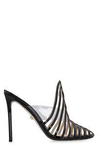 Alessandra patent leather sandals, Mules Alevì woman