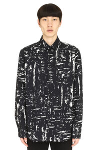 Printed cotton shirt, Long sleeve Shirts Bottega Veneta man