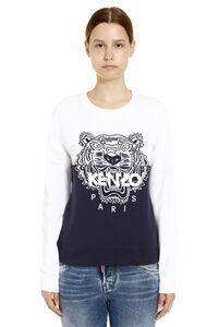 Cotton crew-neck sweatshirt, Sweatshirts Kenzo woman
