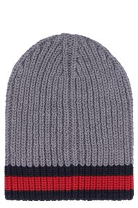 Ribbed knit hat, Hats Gucci man