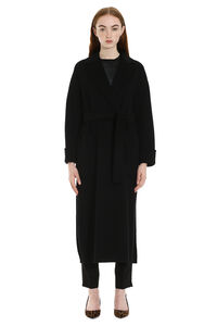 Algeri virgin wool long coat, Long Lenght Coats S Max Mara woman