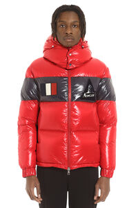 Full zip padded hooded jacket, Down jackets Moncler man