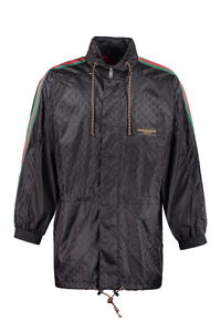 GG jacquard nylon jacket, Raincoats And Windbreaker Gucci man