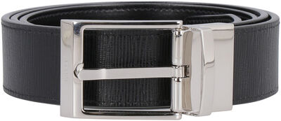 Shiff reversible leather belt