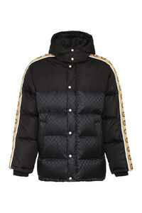 Padded jacket with zip and snaps, Down jackets Gucci man