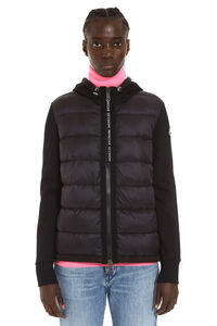 Hooded full zip sweatshirt, Casual Jackets Moncler woman