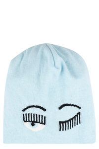 Flirting knitted beanie, Hats Chiara Ferragni Collection woman