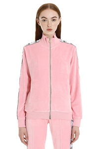Felpa full-zip in ciniglia, Felpe con zip Chiara Ferragni Collection woman