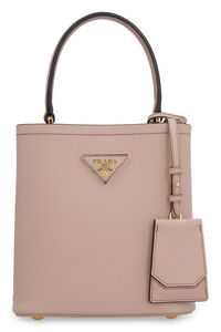 Prada Panier leather bucket bag, Bucketbag Prada woman