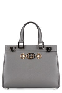 Zumi grainy leather handbag, Top handle Gucci woman