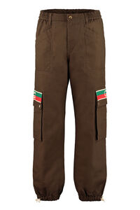 Cotton cargo-trousers, Casual trousers Gucci man