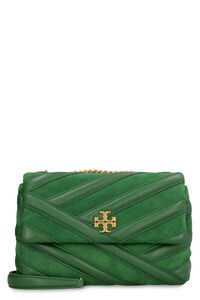 Kira leather and suede bag, Shoulderbag Tory Burch woman