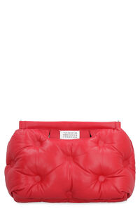 Glam Slam quilted leather handbag, Top handle Maison Margiela woman