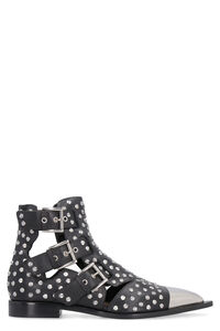 Studded leather ankle boots, Ankle Boots Alexander McQueen woman