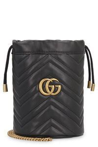 GG Marmont quilted leather mini-bag, Bucketbag Gucci woman