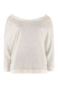 Linen sweater, Long sleeved Forte Forte woman