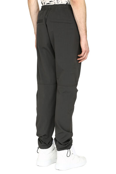 Cotton loose-fit trousers