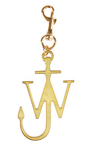 Gold metal Anchor key ring, Keyrings JW Anderson woman