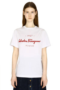 T-shirt in cotone stretch, T-shirt Salvatore Ferragamo woman