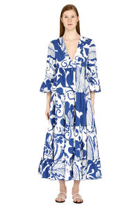 Jennifer Jane printed cotton dress, Printed dresses La DoubleJ woman