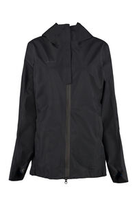 Hooded windbreaker, Raincoats And Windbreaker Mammut Delta X woman