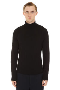 Wool turtleneck sweater, Turtleneck Drumohr man