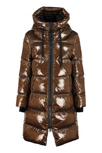 Long hooded down jacket, Down Jackets Herno woman